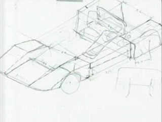 Tyrell's Concept (Line) Drawing of The Special
