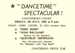 Dance Time Spectacular Ticket