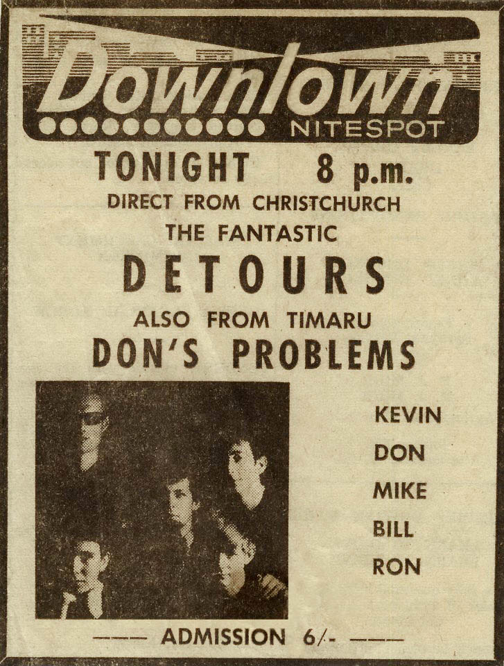 Downtown Nitespot Advert