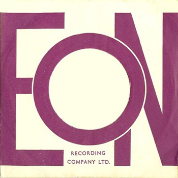 Distinctive EON Record sleeve