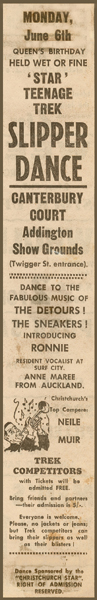 Star Trek Slipper Dance advertisement