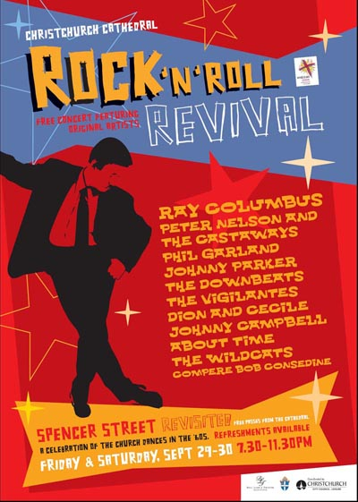 Spencer Street Revisited 2006 Concerts Promotional Poster